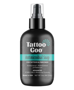 Tattoo Goo Antimicrobial Soap